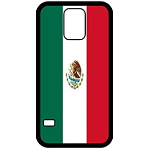 Amazon.com: Mexico Flag Black Samsung Galaxy S5 Cell Phone Case