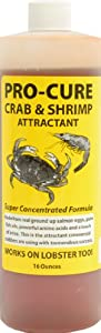 Pro-Cure Crab and Shrimp Attractant Oil, 16-Ounce by Pro-Cure