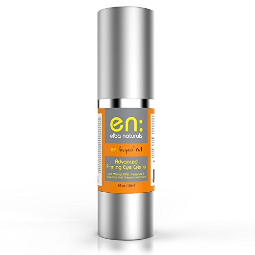 Elba Naturals Face and Eye Advanced Firming Cream, Vitamin C, Hyaluronic Acid, Matrixyl 3000, Tripeptide-5, Retinol Anti-Aging Repair, 1 oz. (Advanced Eye Cream compare prices)