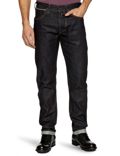 Replay Lonpiz Tapered Men's Jeans Nearly Black W34INxL32IN