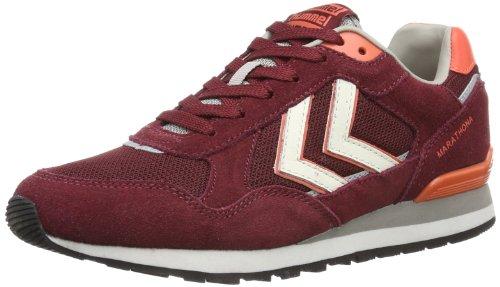 Hummel 'Marathona Low' sneakers, Rosso (Rot (CABERNET)), 36