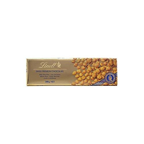 Lindt Swiss Premium Milk Chocolate - Hazelnut (300g)
