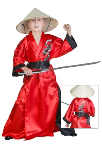 Big Boys' Dragon Samurai Costume