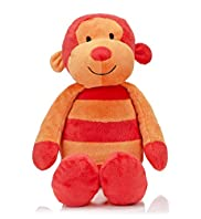 Stripy Monkey Soft Toy