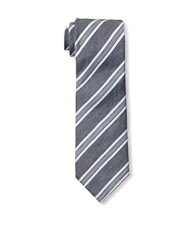 Ermenegildo Zegna Men's Striped Tie, Grey