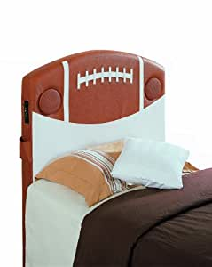 Homelegance Speaker Twin Headboard, Football