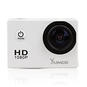Sunco® DREAM 2 SJ4000 Action Video Full HD 1080p 12MP Waterproof Sports Camera With 1.5 -inch High Definition Screen (White)