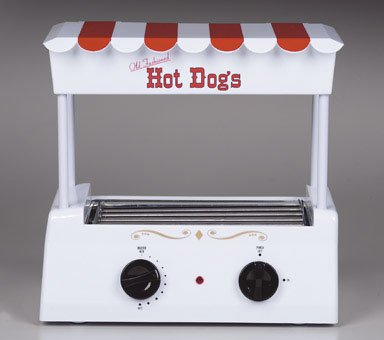 2 each Nostalgia Electrics Old Fashioned Hot Dog Grill HDR 565