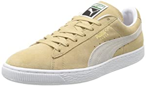 PUMA Suede Classic+ Sneaker,Curds Whey/White,11.5 M US Men's
