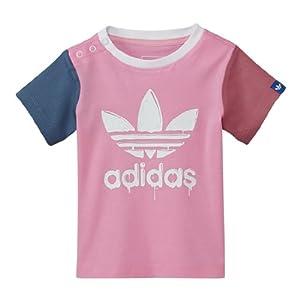 adidas Originals T-Shirt Trefoil rosa, 98