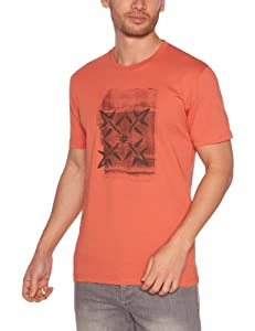 Oxbow Flag T-Shirt manches courtes homme Burnt Orange FR : 36 (Taille Fabricant : S)