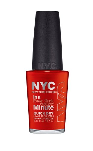 New York Color In A New York Color Minute Quick Dry Nail Polish, Spring Street, 0.33 Fluid Ounce by N.Y.C.