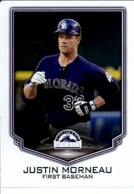 2016 Topps MLB #296 Justin Morneau Colorado Rockies Baseball Sticker
