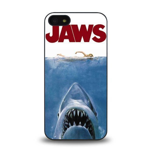 Jaws movie poster Phone Case [Customizable by Buyers] [Create Your Own Phone Case] Slim Fitted Hard Protector Cover for iPhone 6