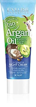 bio Argan Oil + Grape Seed Oil + Goat's Milk Intensive Night Cream 75ml by Eveline Cosmetics