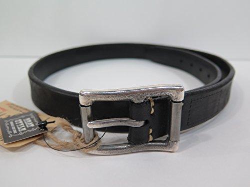 【ビンテージワークス】 32mm レザーベルト/黒 Vintage Works DH5712 (35(89cm))