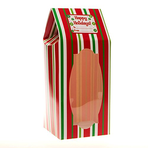 Christmas Stripe Cookie Boxes