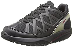 MBT Womens Sport3 Walking Shoe,Black,36 EU/5-5.5 M US