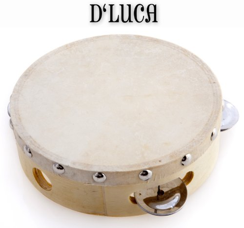 D'Luca TH6-4 6-Inch Tambourine
