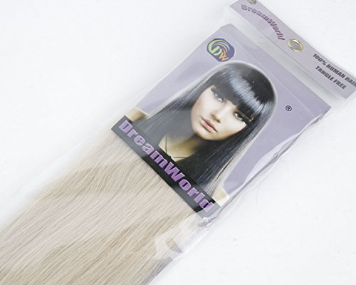 Cool2day18-7pcs-70g-100-Real-Full-Head-Remy-Human-Hair-Clip-in-Extensions-60-Platinum-Blonde