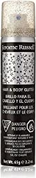 Jerome Russell Hair & Body Glitter Spray, Silver 2.2 oz (Pack of 2)