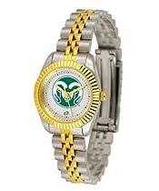 Colorado State Rams CSU NCAA Womens 23Kt Gold Watch