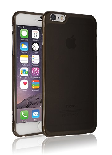 iPhone6 Plus Case, Apple iPhone 6 Plus Matt Aqua, Mobile Soft Jelly Case - Retail Packaging (Light Black) (Iphone6 Jelly compare prices)