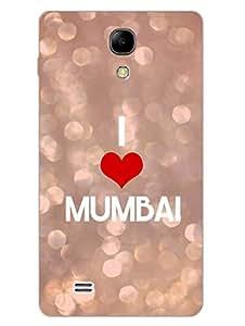 I Love Mumbai - Mumbai Meri Jaan - Hard Back Case Cover for Samsung S4 Mini - Superior Matte Finish - HD Printed Cases and Covers