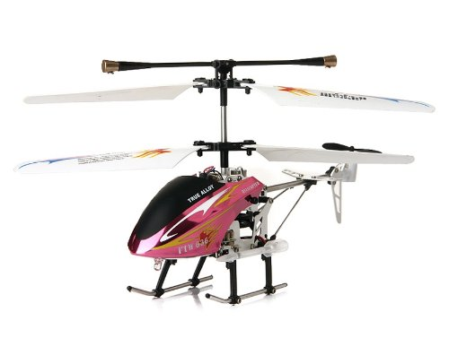 Wensheng 636 3-Channel Remote Control Helicopter (Purple)