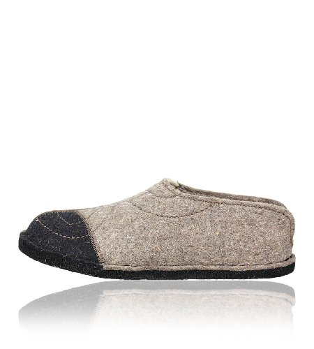 Haflinger Slippers Flair Puzzle, 311031-550,torf, Gr 41