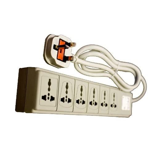 SP VCT WPS-UK 220/240 Volt 6 Outlet Surge Protector with UK Plug - CE Certified at Sears.com