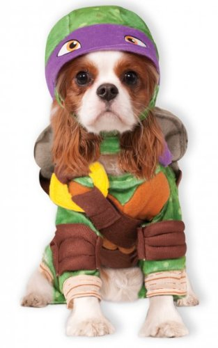 Rubies Costume Company Teenage Mutant Ninja Turtles Donatello Pet Costume, Small - 1