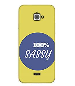 Happoz Infocus M350 Cases Back Cover Mobile Pouches Shell Hard Plastic Graphic Armour Premium Printed Designer Cartoon Girl 3D Funky Fancy Slim Graffiti Imported Cute Colurful Stylish Boys D312
