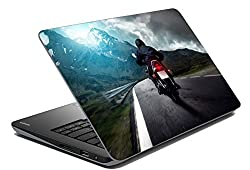 meSleep Bike Laptop Skin