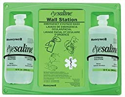 Double Wall Station, 32 oz. Bottle Personal Eyewashes and Wall Stations - R3-32-000462-0000