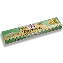 Soft Torrone with Almond Pistachio & Hazelnut by Tre Mori (7.1 ounce)