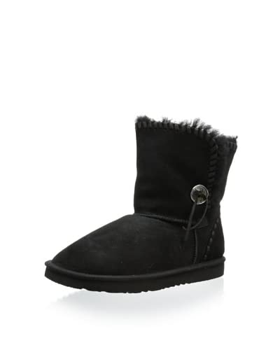 Koolaburra Women's Trishka Short Shearling Boot  [Black]
