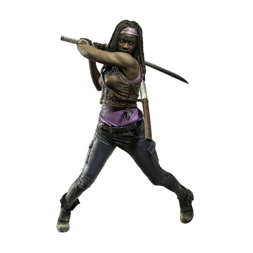 Mc Farlane - Figurina Walking Dead - Michonne Tv 25Cm - 0787926144741