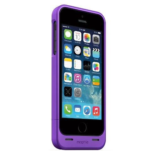日本正規代理店品mophie juice pack helium for iPhone 5s/5 パープルメタリック MOP-PH-000057