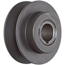 Martin VP Sheave, 3L/4L/5L or A/B Belt Section, 1 Groove, Class 30 Gray Cast Iron