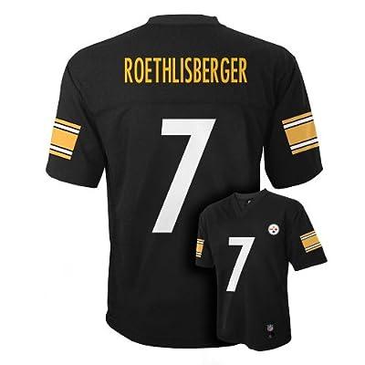 Ben Roethlisberger Pittsburgh Steelers #7 NFL Youth Jersey Black