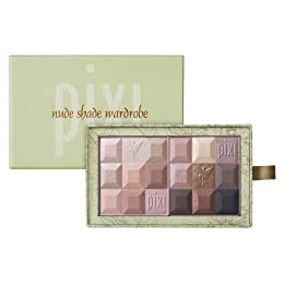 Product Image Pixi Nude Shade Wardrobe Eye & Cheek Makeup - Café Au Lait