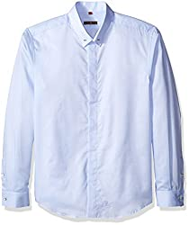 Lords & Fools Men's Calvin Shirt, Blue, XXXL