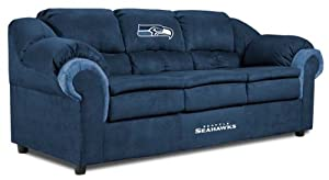 NFL Seattle Seahawks First Team Microfiber Sofa by Imperial