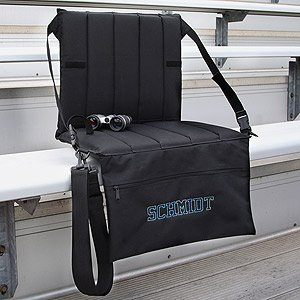 Personalized Portable Padded Bleacher Seat from PersonalizationMall.com