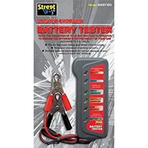 Deliver  Battery on Streetwize 12v Car Battery   Alternator Tester  Amazon Co Uk  Garden