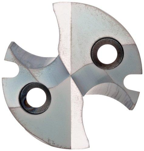 72mm Overall Length 10mm Cutting Diameter 10mm Shank Diameter TiAlN Monolayer Finish Sandvik Coromant R216.34 Carbide Square Nose End Mill 4 Flutes Weldon Shank Metric 50 Deg Helix