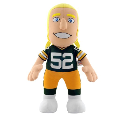 NFL Green Bay Packers Clay Matthews Jr 14-Inch Plush Doll at Amazon.com