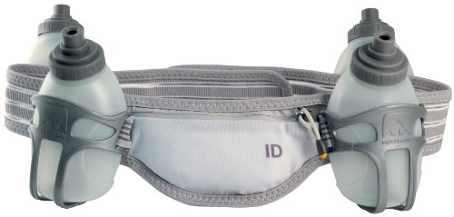 Nathan Nathan Speed 4R Waist Pack with Four 8-Ounce Nutrition Flasks (Medium)