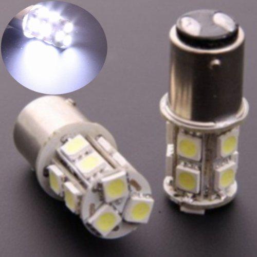 Rextin 2X 1157 Bay15D P21/5W Dual Filament Smd 5050 Car Tail Brake Led Light Bulb Lamp